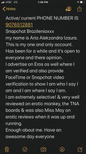 Aria Alekzandra Izaur 7
